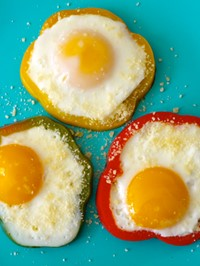 Bell Pepper Egg in a Hole